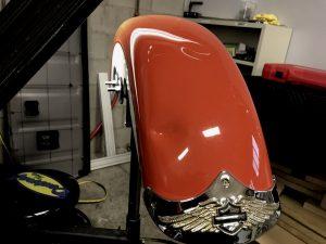 Harley fender repair